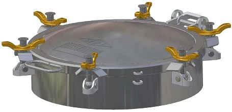460mm Manhole Assembly