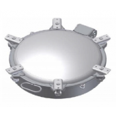 "504mm (20"") 6-Point Low Profile Road Tanker Manhole Assembly"